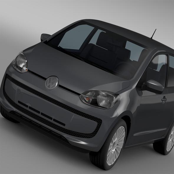 VW High UP 5 door 2014 - 3DOcean Item for Sale