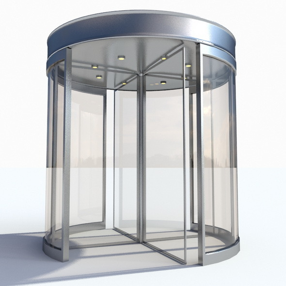Revolving Door - 3DOcean Item for Sale