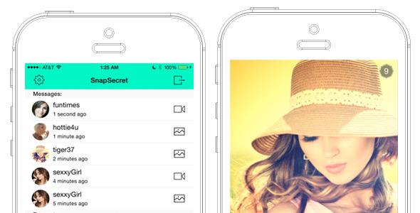 CodeCanyon SnapSecret Snapchat clone 11382686