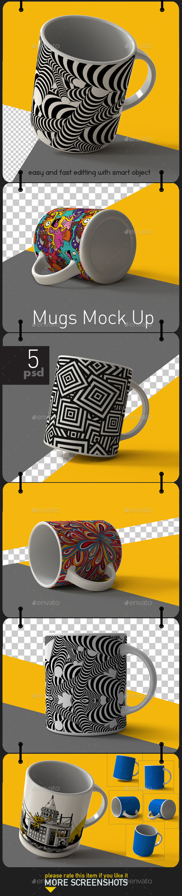 GraphicRiver Mug Mock Up 11382824