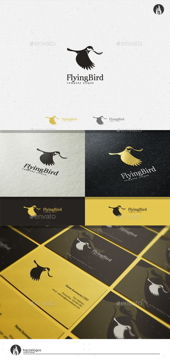 GraphicRiver Flying Bird Logo 11382859