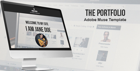 The Portfolio - Creative Muse Template