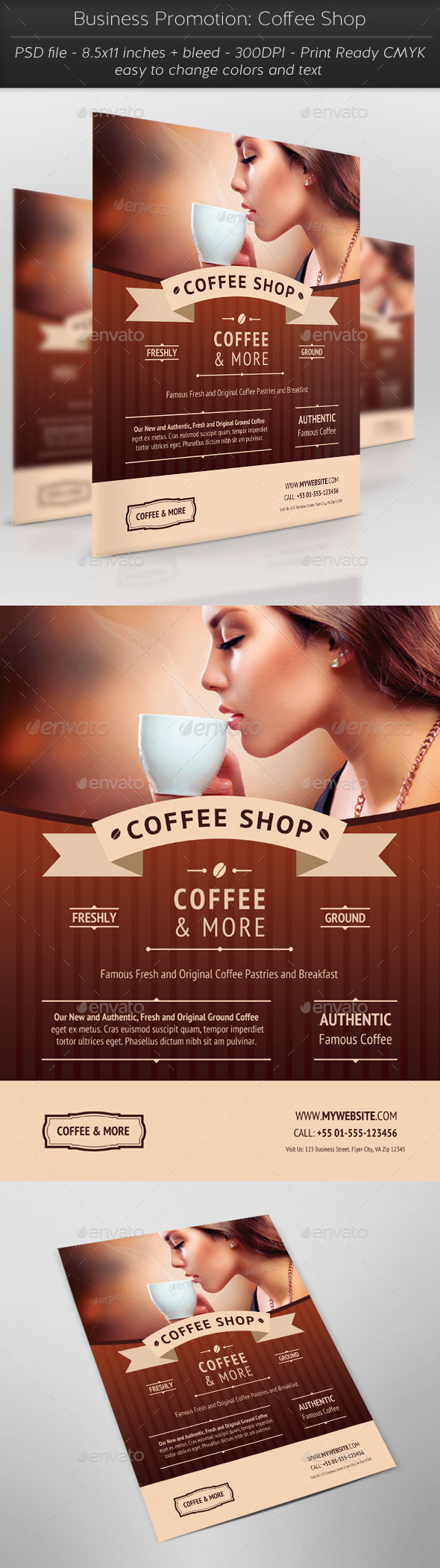GraphicRiver Business Promotion Coffee Shop 11383464