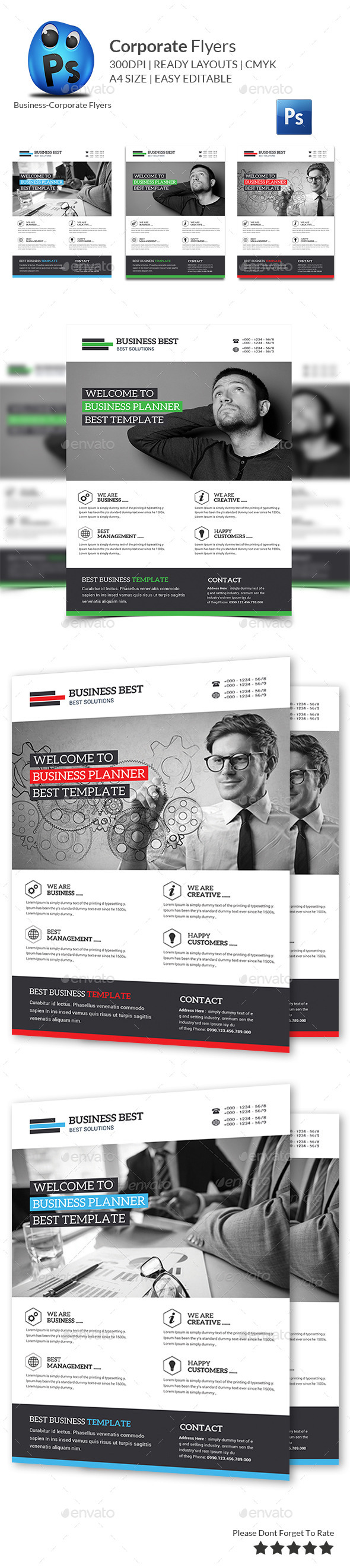 GraphicRiver Marketing Business Flyer Print Templates 11383467