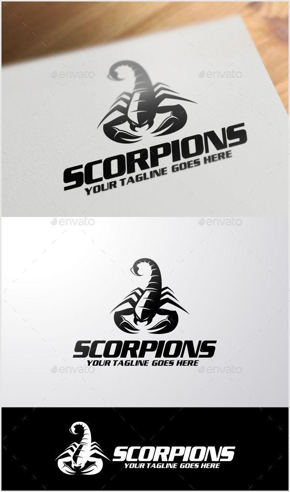GraphicRiver Scorpions Logo Template 11383475