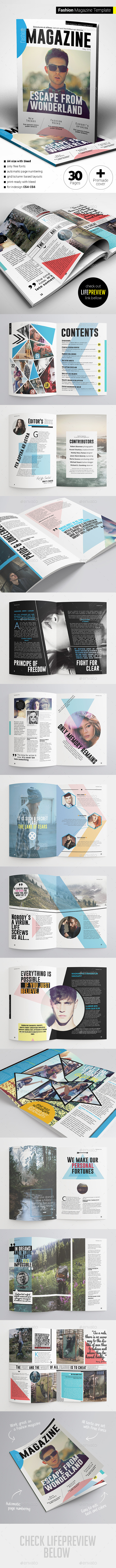 GraphicRiver Fashion Magazine 11383480