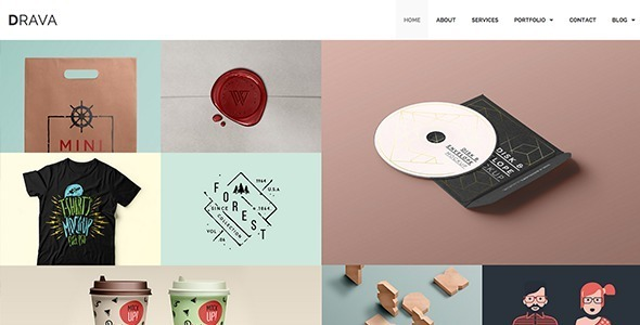Drava - Multi-Purpose Theme powered by Jekyll