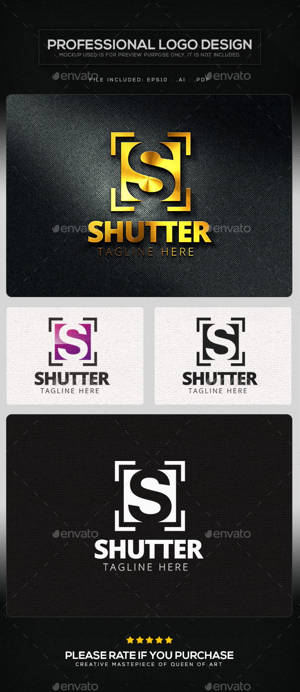 GraphicRiver Shutter Logo Template 11383762