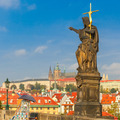 Charles Bridge in Prague, Czech Republic. - PhotoDune Item for Sale