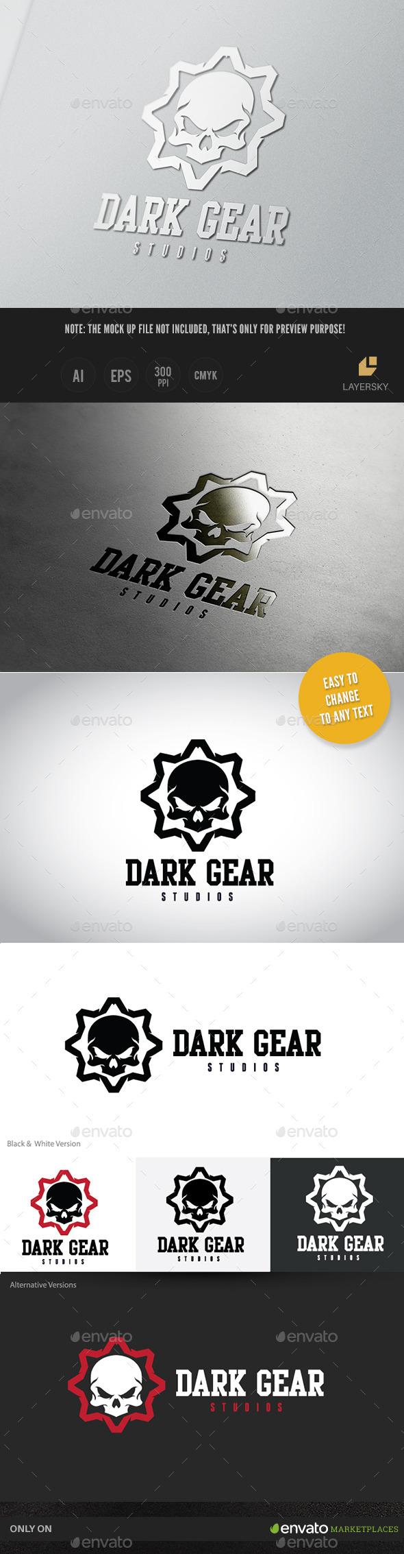 GraphicRiver Dark Gear II 11383969