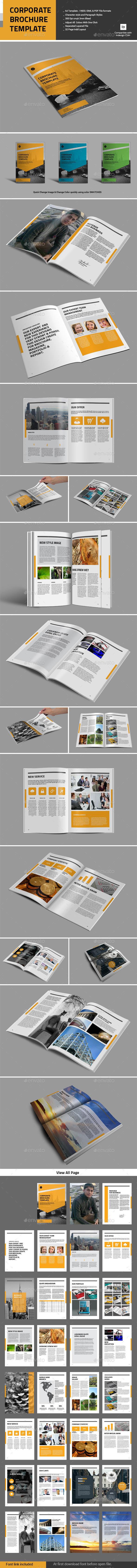 GraphicRiver Corporate Brochure Templage 11383982