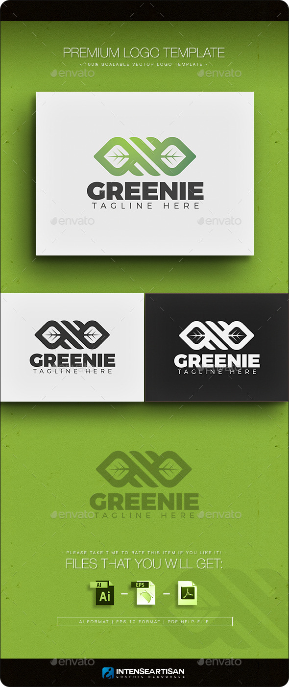 GraphicRiver Greenie Logo 11384490