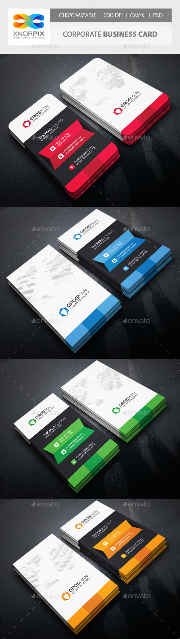 GraphicRiver Corporate Business Card 11299207