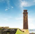 clock on the tower (Galle, Sri Lanka) - PhotoDune Item for Sale