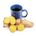 Ginger tea isolated on a white background - PhotoDune Item for Sale