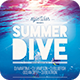 Summer Dive Flyer - GraphicRiver Item for Sale