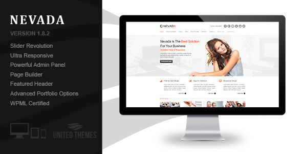 Nevada - Responsive Multi-Purpose Theme - Business Corporate