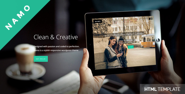 ThemeForest NAMO Creative Multi-Purpose HTML5 Theme 11324804