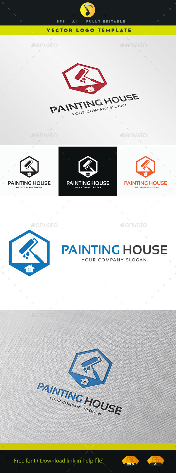 GraphicRiver Painting House 11386060