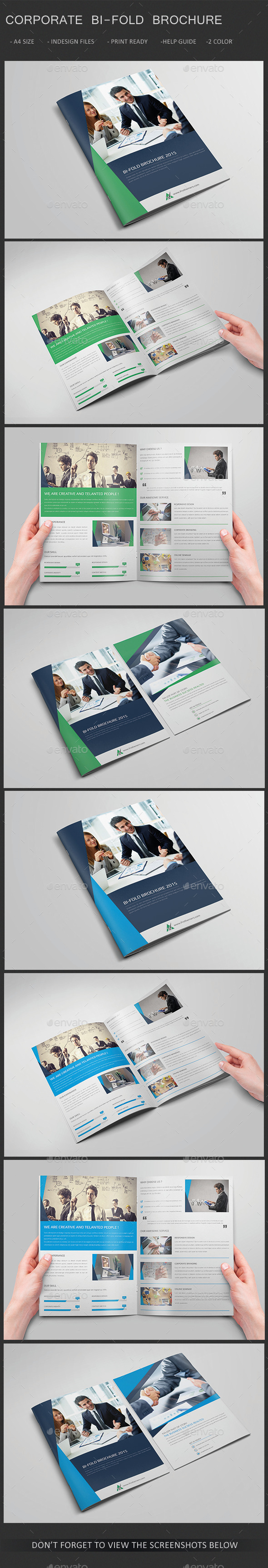 GraphicRiver Corporate Bi-fold Brochure 11386439