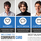 Corporate Business Postcards - GraphicRiver Item for Sale
