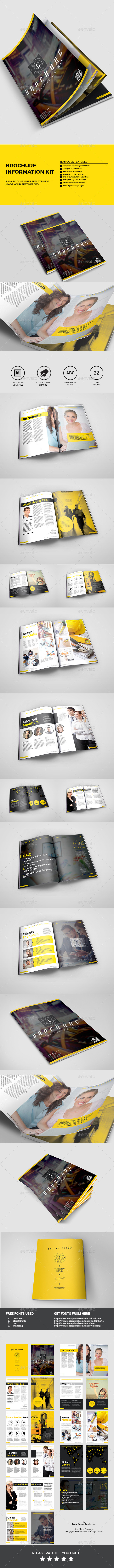 GraphicRiver Brochure 11386679