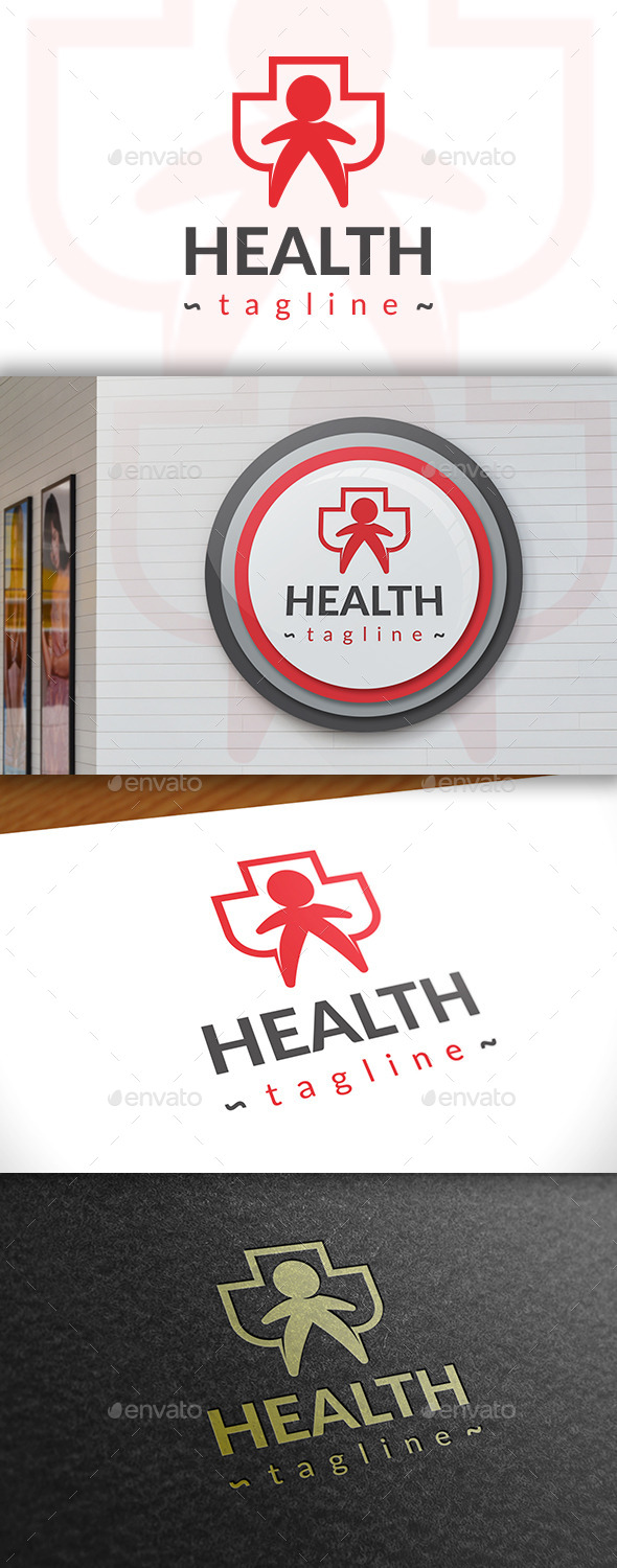 GraphicRiver Health Logo 11386796