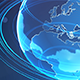 Spining Hologram Globe of Planet Earth - VideoHive Item for Sale