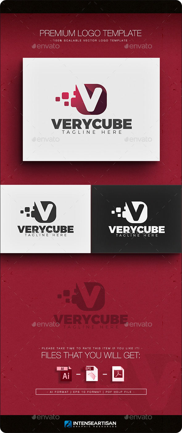 GraphicRiver Very Cube Logo 11386919