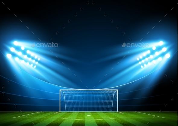 GraphicRiver Soccer Arena Stadium 11386946