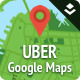 UBER Google Maps for Layers