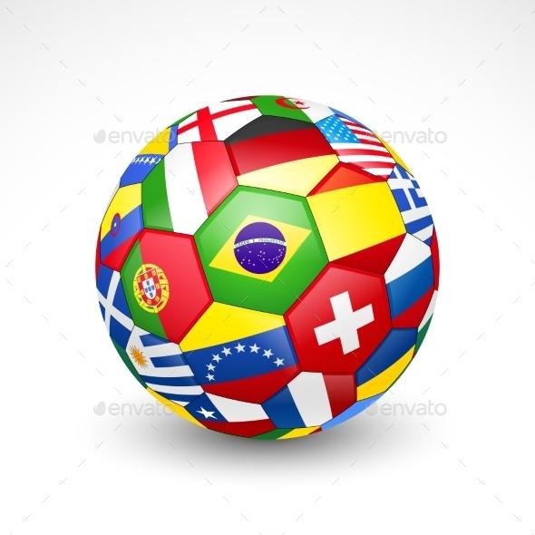 GraphicRiver Football Soccer Ball 11387179