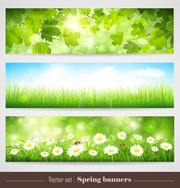 GraphicRiver Spring Banners 11387370
