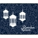 Hanging Arabic Lanterns For Ramadan Kareem Holiday - GraphicRiver Item for Sale