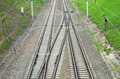 Railway tracks. View from above - PhotoDune Item for Sale