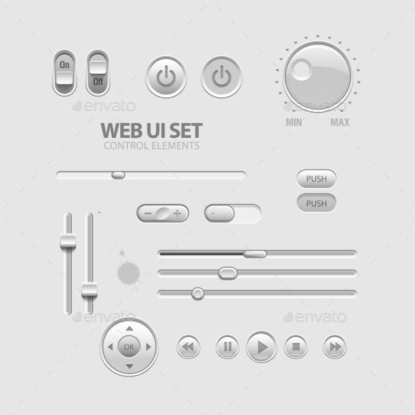 GraphicRiver Web UI Elements 11388071