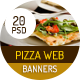Pizza & Restaurant Ad Banners - GraphicRiver Item for Sale