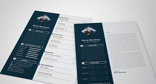 Clean & Simple Resume CV
