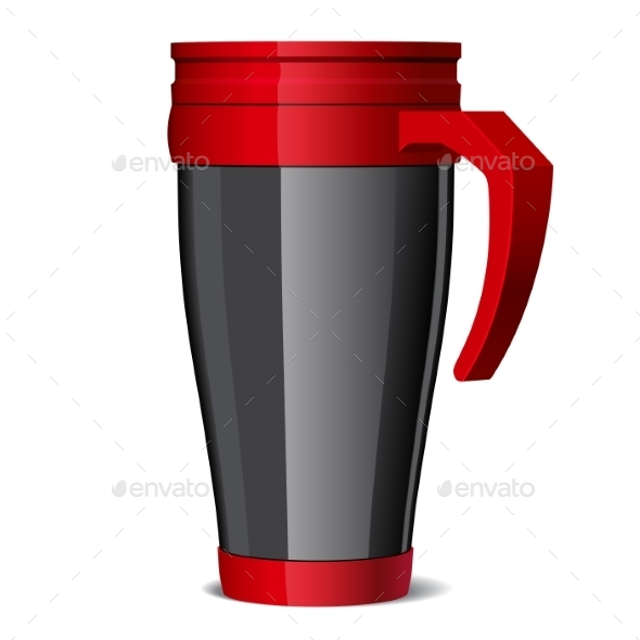 GraphicRiver Travel Thermos-Cup 11388447