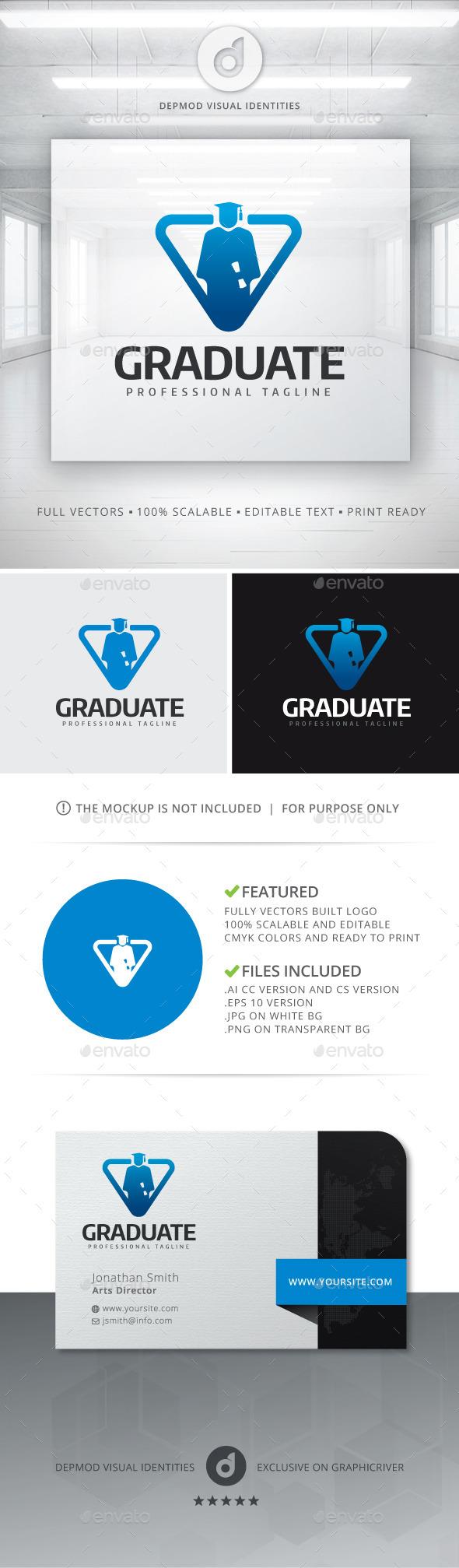 GraphicRiver Graduate Logo 11388715
