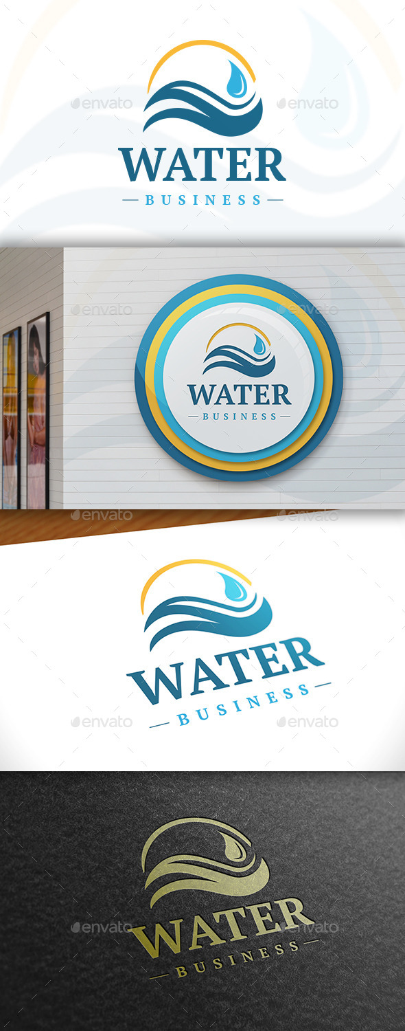 GraphicRiver Water Logo 11388880