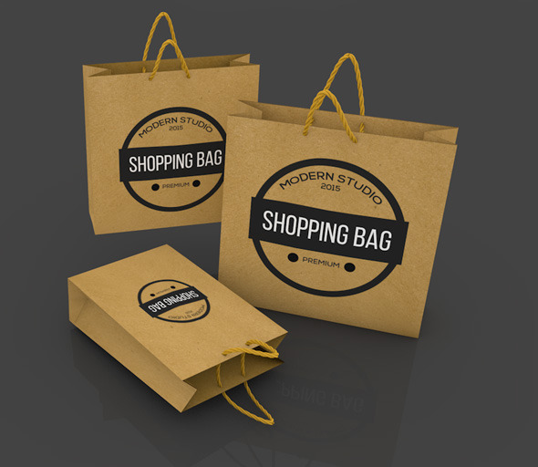 3DOcean Paper Shopping Bags 11388908