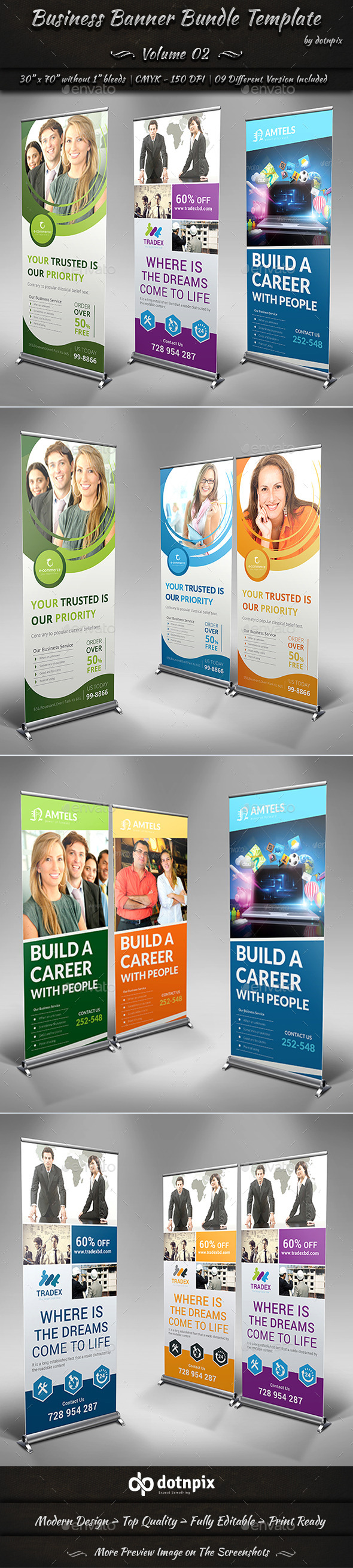 GraphicRiver Business Banner Bundle Template Volume 2 11388973