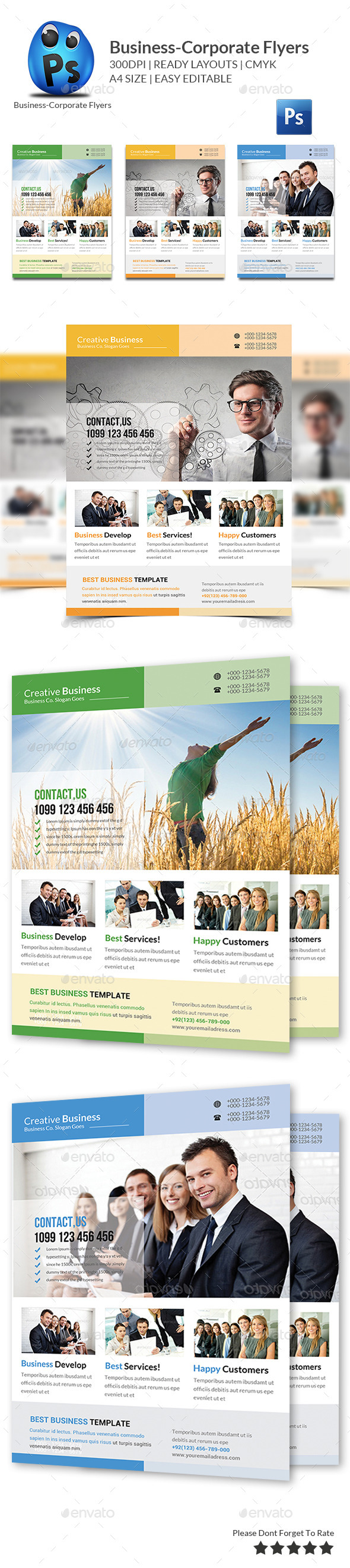 GraphicRiver Corporate Business Flyer Template 11389137