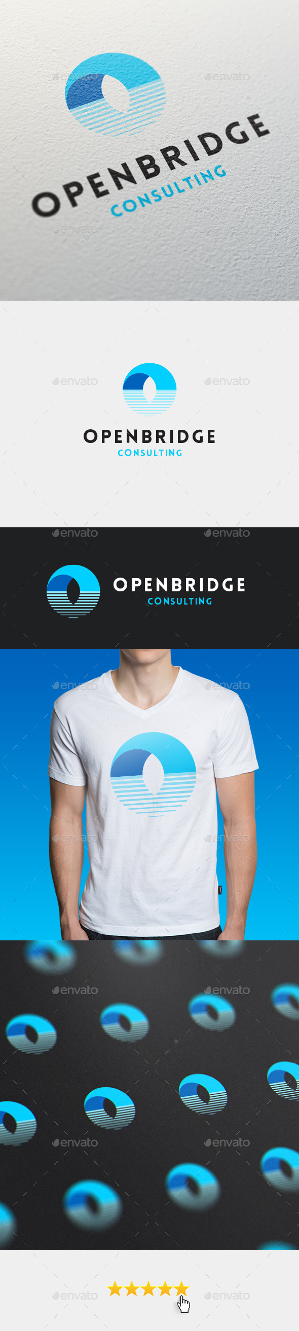 GraphicRiver Openbridge Logo Template 11389153