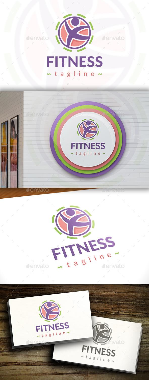 Fitness Modern Logo