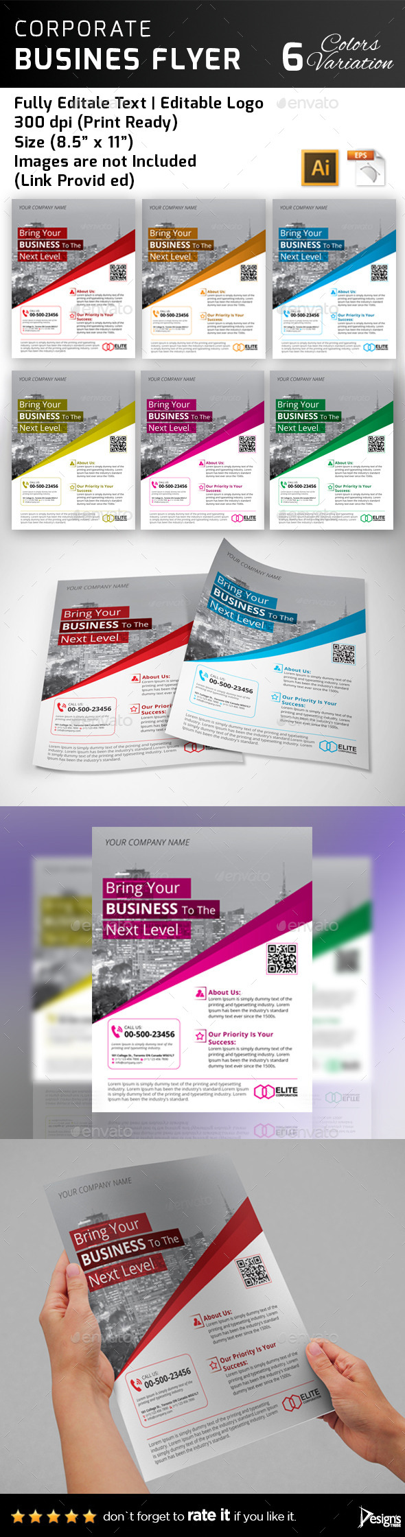 GraphicRiver Multipurpose Business Flyer 44 11389892