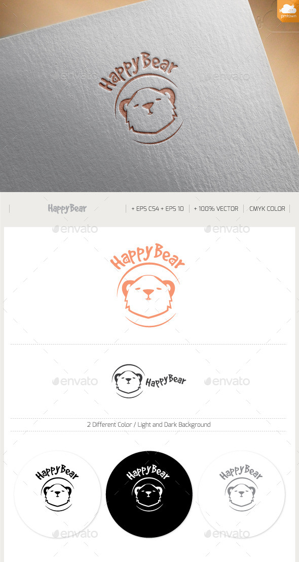 GraphicRiver Happy Bear 11390106