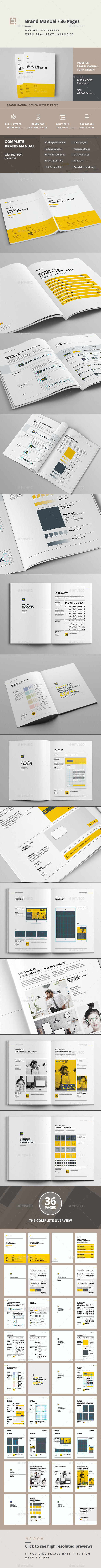 GraphicRiver Brand Manual Template 11323698