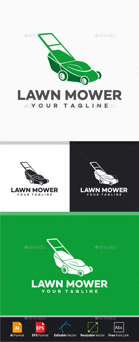lawn mowing service flyer template org stock photos graphicriver lawn mower logo 11390482